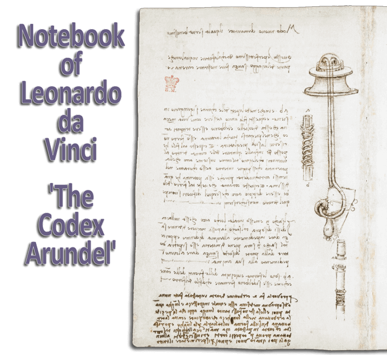 Notebook of Leonardo da Vinci - The Codex Arundel